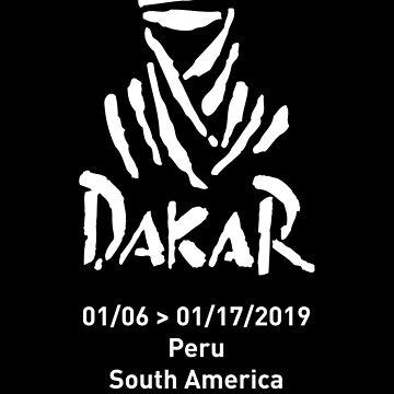 Dakar 2019 logo by MichailoAvilov