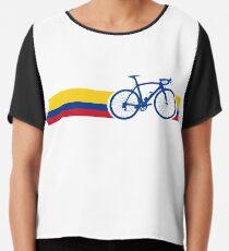 Bike Stripes Colombia National Road Race Chiffon Top