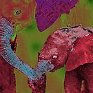 Two Elephants by MatthewSC