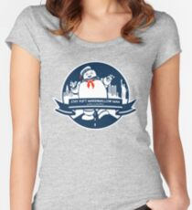 STAY PUFT NYC Women's Fitted Scoop T-Shirt