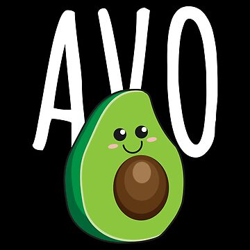Avocado Avo Partner Couples Friends - Gift Idea by vicoli-shirts