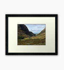 Gap of Dunloe - Killarney, Kerry, Ireland Framed Print