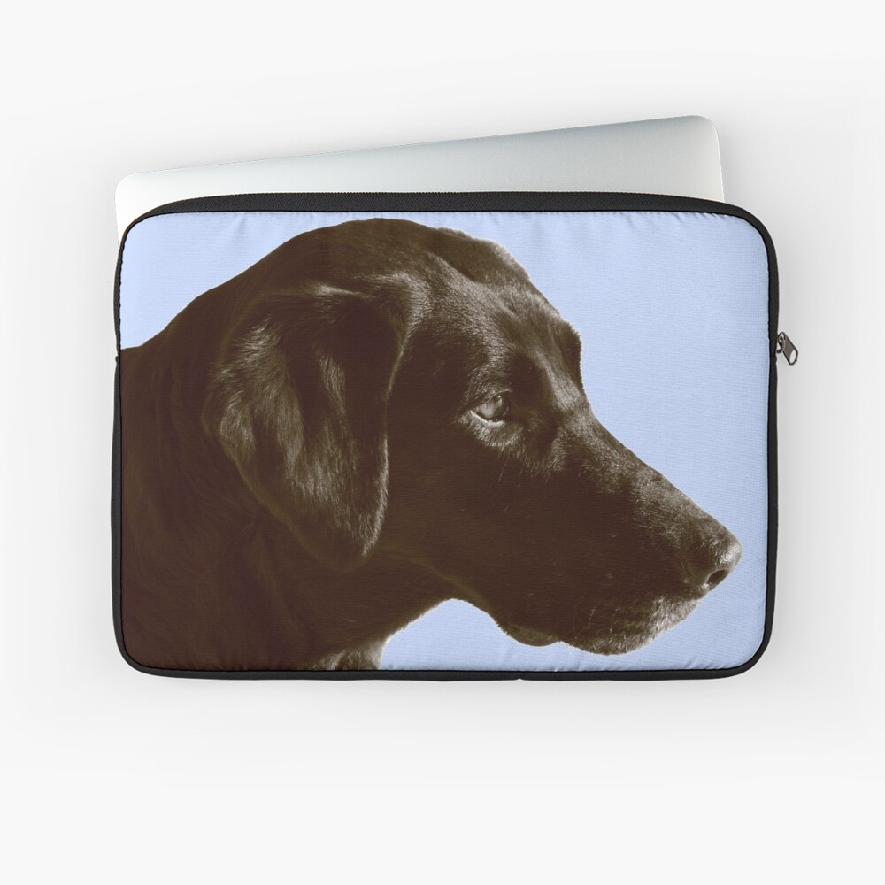 Chocolate Lab Laptop Sleeve