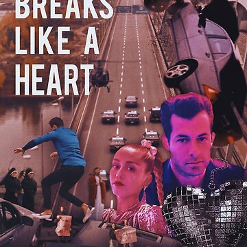 Nothing Breaks Like A Heart Movie Poster by ZVCHWILLIAMS