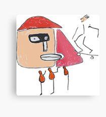 Ein Gangster, ein Skater und drei Einbeinige Metallbild