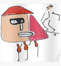 Ein Gangster, ein Skater und drei Einbeinige Poster