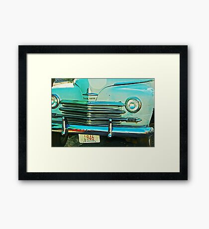 Plymouth 1946 Framed Print