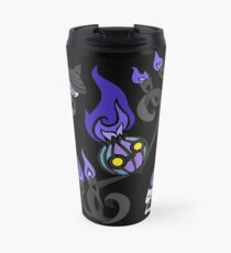 Flames of the Forgotten - Chandelure, Lampent and Litwick Travel Mug