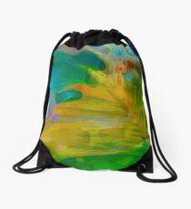 Abstract Palm Art Drawstring Bag