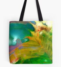 Abstract Palm Art Tote Bag