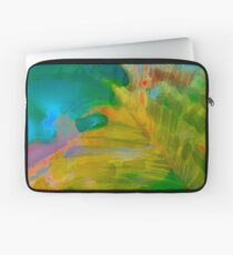 Abstract Palm Art Laptop Sleeve