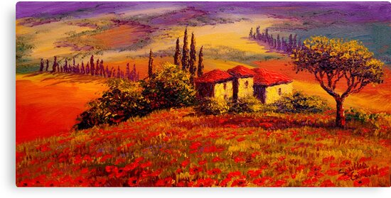 Tuscany Villa With a View by sesillie