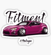 Finest Fitment (FRS / GT86) Sticker
