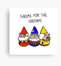 Gnome for the Holidays Canvas Print