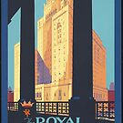 Vintage Toronto Canada Travel Vacation Holiday Advertisement Art Poster by jnniepce
