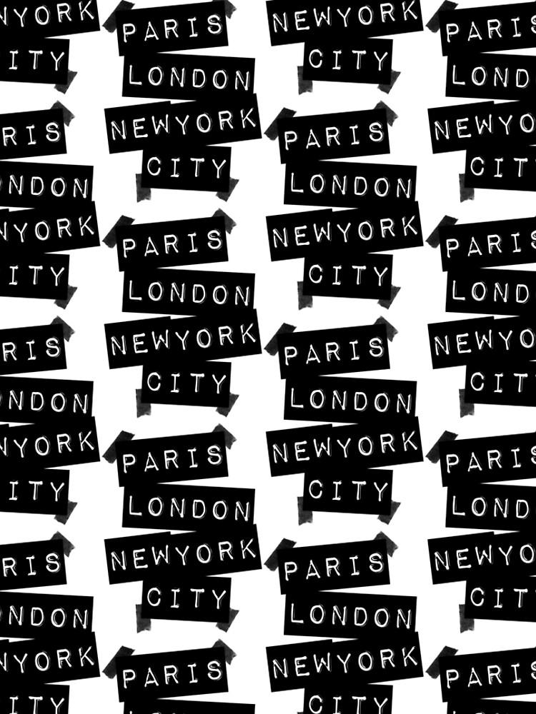 París. Londres. Nueva York. de TheLoveShop