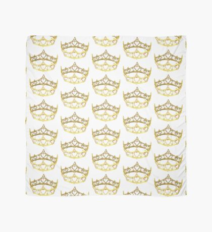 Queen of Hearts gold crown tiara by Kristie Hubler Scarf