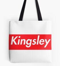 Hello My Name Is Kingsley Name Tag Tote Bag