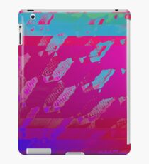Fuchsia Abstract iPad Case/Skin