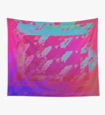 Fuchsia Abstract Wall Tapestry