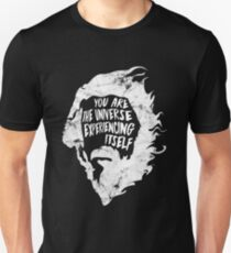 Alan Watts You Are the Universe Experiencing Itself Slim Fit T-Shirt
