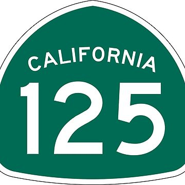 California State Route 125 by Joeybab3