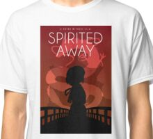 Spirited Away Movie Poster Classic T-Shirt