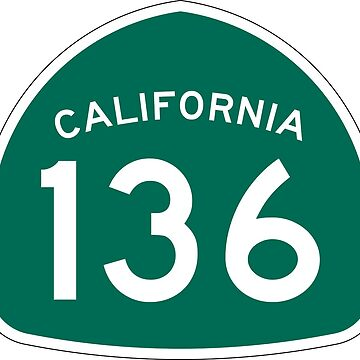California State Route 136 by Joeybab3