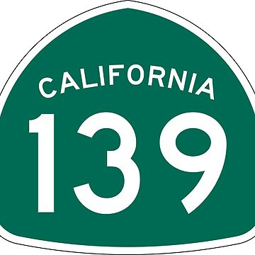 California State Route 139 by Joeybab3