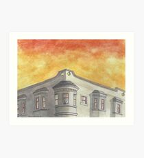 """""""8th and Clement""""  Art Print"""