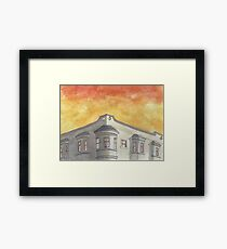 """""""8th and Clement""""  Framed Print"""