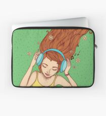 Summer, music and relax Laptop Sleeve