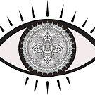 Mandala Eye by charlo19