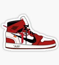 7a9cf244e9a3 Jordan x Off White Sticker