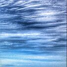 Sky waves sand seascape by Murray Swift
