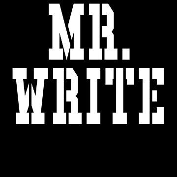 Mr Write by cnkna