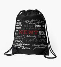 Memorial to Newt Drawstring Bag