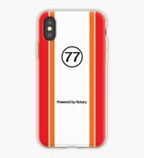 Mazda RX-7 Savanna Racecar #77 Livery Phone Case iPhone Case