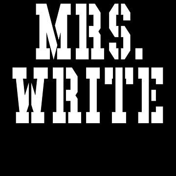 Mrs Write by cnkna