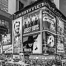 Times Square III (special finale edition - black & white) by Ray Warren