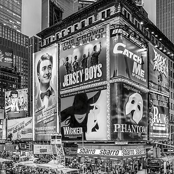 Times Square III (special finale edition - black & white) by RayW