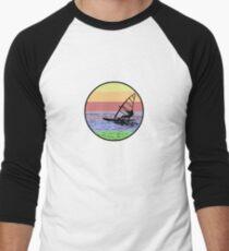 Windsurfing Men's Baseball ¾ T-Shirt