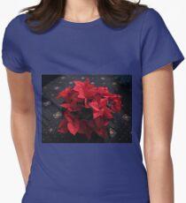 Weihnachtsüberraschung Tailliertes T-Shirt für Frauen