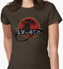 LV-426 Womens Fitted T-Shirt