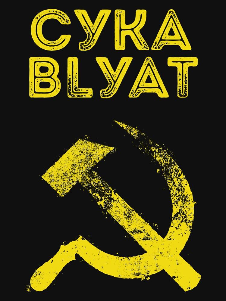 Used Cyka Blyat Communist - Сука Блять by Chocodole