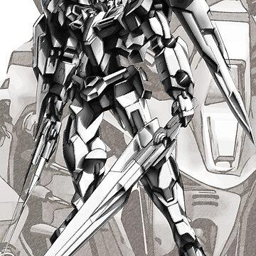 Gundam - 00 Raiser by metalcharisma