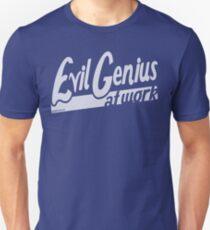 Evil Genius at Work T-Shirt