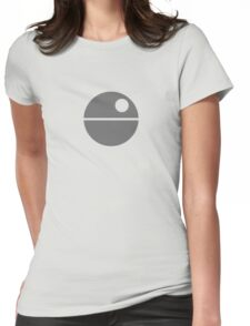Star Wars - Death Star Womens Fitted T-Shirt
