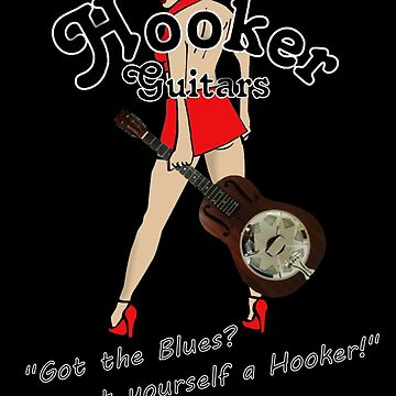 Hooker Resonator Guitars girl by neonblade