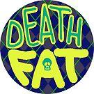 Death Fat Skull (Round) by Alex Heberling